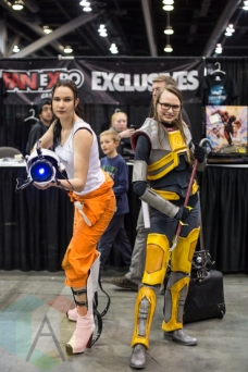 Portal, and HalfLife at Fan Expo Vancouver 2015. (Photo: Steven Shepherd/Aesthetic Magazine Toronto)