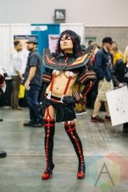 Ryūko Matoi (Kill la Kill) at Fan Expo Vancouver 2015. (Photo: Steven Shepherd/Aesthetic Magazine Toronto)