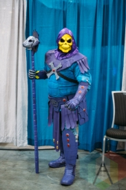 Skeletor (He-Man) at Fan Expo Vancouver 2015. (Photo: Steven Shepherd/Aesthetic Magazine Toronto)