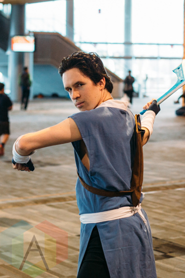 Sokka (Avatar: The Last Airbender) at Fan Expo Vancouver 2015. (Photo: Steven Shepherd/Aesthetic Magazine Toronto)