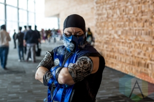 Sub Zero (Mortal Kombat) at Fan Expo Vancouver 2015. (Photo: Steven Shepherd/Aesthetic Magazine Toronto)