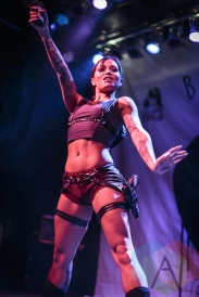 Suicide Girls: Blackheart Burlesque at The Phoenix Concert Theatre in Toronto on April 16th, 2015. (Photo: Dale Benvenuto/Aesthetic Magazine Toronto)
