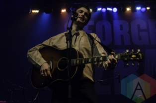 Ruen Brothers performing at The Danforth Music Hall in Toronto, ON on April 20th, 2015. (Photo: Dawn Hamilton/Aesthetic Magazine Toronto)