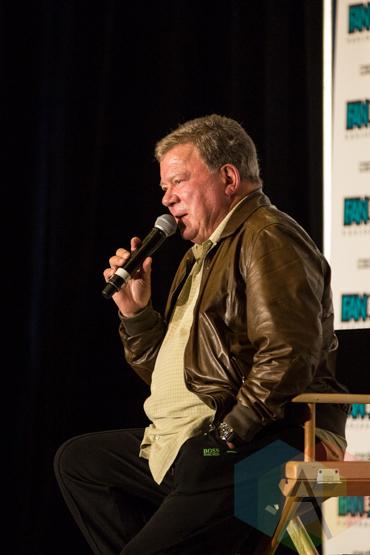 William Shatner (Star Trek) at Fan Expo Vancouver 2015. (Photo: Steven Shepherd/Aesthetic Magazine Toronto)