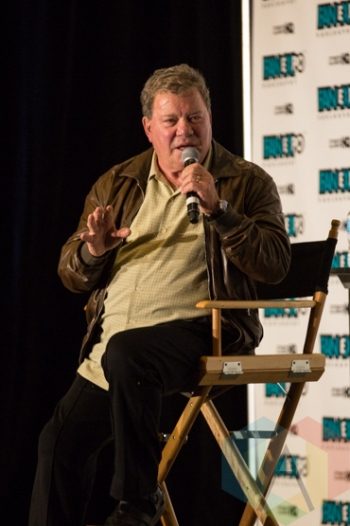 William Shatner (Star Trek) at Fan Expo Vancouver 2015. (Photo: Steven Shepherd/Aesthetic Magazine Toronto)