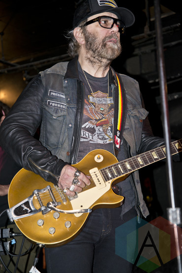 Daniel Lanois performing at The Horseshoe Tavern in Toronto, ON on May 1, 2015 during CMW 2015. (Photo: Philip C. Perron/Aesthetic Magazine Toronto)
