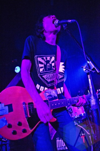 Zoobombs performing at The Silver Dollar in Toronto, ON on May 1, 2015 during CMW 2015. (Photo: Philip C. Perron/Aesthetic Magazine Toronto)
