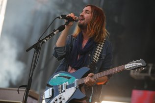 Tame Impala performing at Sasquatch 2015. (Photo: Matthew Lamb)