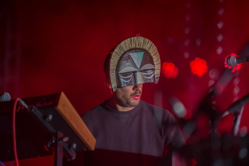 SBTRKT performing at Sasquatch 2015. (Photo: Matthew Lamb)