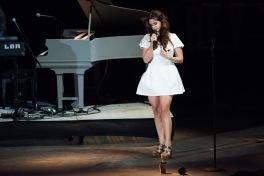 Lana Del Rey performing at Sasquatch 2015. (Photo: Matthew Lamb)