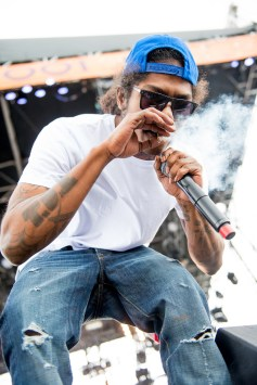 Ab-Soul performing at Sasquatch 2015. (Photo: Matthew Lamb)