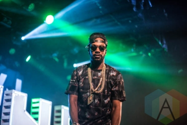 Juicy J performing at Commodore Ballroom in Vancouver, BC on May 27, 2015. (Photo: Amy Ray/Aesthetic Magazine)