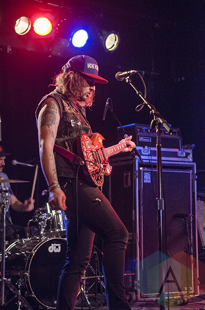 King Tuff performing at Lee's Palace in Toronto, ON on May 7, 2015 during CMW 2015. (Photo: Roy Cohen/Aesthetic Magazine Toronto)