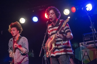 Twin Peaks performing at Lee's Palace in Toronto, ON on May 7, 2015 during CMW 2015. (Photo: Roy Cohen/Aesthetic Magazine Toronto)