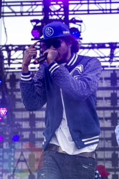 Ab-Soul performing at Sasquatch 2015. (Photo: Daniel Hager/Aesthetic Magazine Toronto)