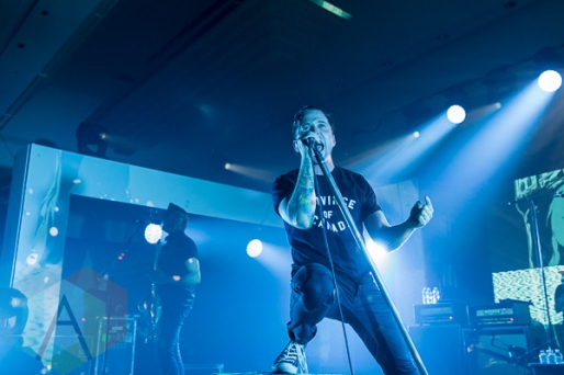 Billy Talent performing at the 2015 SiriusXM Indies in Toronto, ON on May 9, 2015 during CMW 2015. (Photo: Fernando Paiz/Aesthetic Magazine Toronto)