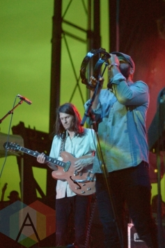 The Black Angels performing at Austin Psych Fest: Levitation in Austin, TX on May 10, 2015. (Photo: Steve Danyleyko/Aesthetic Magazine Toronto)