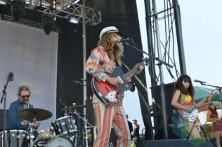 The Blank Tapes performing at Austin Psych Fest: Levitation in Austin, TX on May 9, 2015. (Photo: Steve Danyleyko/Aesthetic Magazine Toronto)