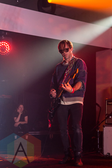 Broncho performing at the 2015 SiriusXM Indies in Toronto, ON on May 9, 2015 during CMW 2015. (Photo: Fernando Paiz/Aesthetic Magazine Toronto)
