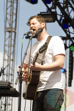 Dan Mangan + Blacksmith performing at Sasquatch 2015. (Photo: Daniel Hager/Aesthetic Magazine Toronto)