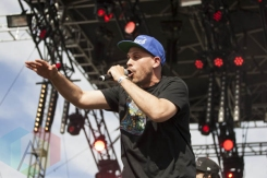 Dilated Peoples performing at Sasquatch 2015. (Photo: Daniel Hager/Aesthetic Magazine Toronto)