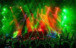 DJ Snoopadelic (aka Snoop Dogg) performing at Movement Detroit 2015. (Photo: Bryan Mitchell)