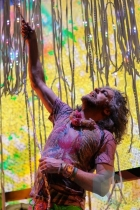 The Flaming Lips performing at Austin Psych Fest: Levitation in Austin, TX on May 10, 2015. (Photo: Steve Danyleyko/Aesthetic Magazine Toronto)
