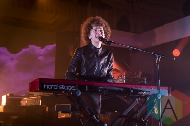 Francesco Yates performing at Chum FM FanFest 2015 in Toronto, ON on May 8, 2015 during CMW 2015. (Photo: Dale Benvenuto/Aesthetic Magazine Toronto)