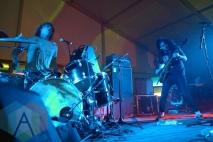 Fuzz performing at Austin Psych Fest: Levitation in Austin, TX on May 10, 2015. (Photo: Steve Danyleyko/Aesthetic Magazine Toronto)