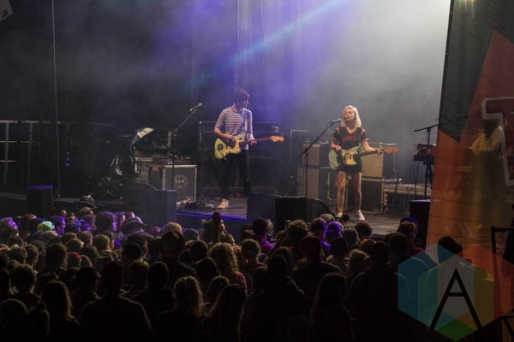 Alvvays performing at Sasquatch 2015. (Photo: Daniel Hager/Aesthetic Magazine Toronto)