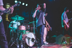 Knuckle Puck performing at the Altar Bar in Pittsburgh, PA on April 30, 2015. (Photo: Emily Kovacic/Aesthetic Magazine Toronto)