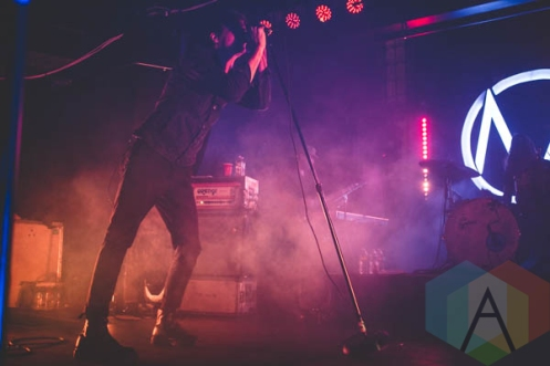 The Maine performing at the Altar Bar in Pittsburgh, PA on April 30, 2015. (Photo: Emily Kovacic/Aesthetic Magazine Toronto)