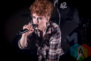 Kiesza performing at Chum FM FanFest 2015 in Toronto, ON on May 8, 2015 during CMW 2015. (Photo: Dale Benvenuto/Aesthetic Magazine Toronto)