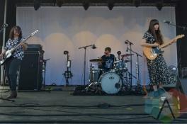 Las Robertas performing at Austin Psych Fest: Levitation in Austin, TX on May 9, 2015. (Photo: Steve Danyleyko/Aesthetic Magazine Toronto)