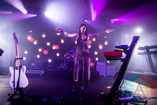 Lights performing at Chum FM FanFest 2015 in Toronto, ON on May 8, 2015 during CMW 2015. (Photo: Dale Benvenuto/Aesthetic Magazine Toronto)