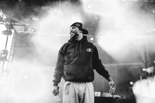 Method Man performing at Movement Detroit 2015. (Photo: Samuel Trotter)