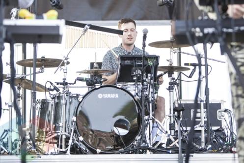 Jungle performing at Sasquatch 2015. (Photo: Matthew Thompson/Aesthetic Magazine Toronto)