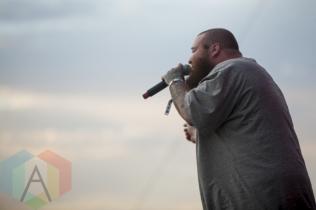Action Bronson performing at Sasquatch 2015. (Photo: Matthew Thompson/Aesthetic Magazine Toronto)
