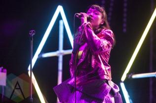 Little Dragon performing at Sasquatch 2015. (Photo: Matthew Thompson/Aesthetic Magazine Toronto)