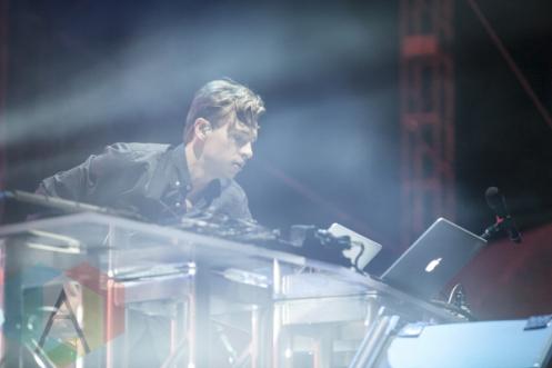 Flume performing at Sasquatch 2015. (Photo: Matthew Thompson/Aesthetic Magazine Toronto)