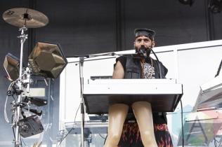 Chromeo performing at Sasquatch 2015. (Photo: Matthew Thompson/Aesthetic Magazine Toronto)