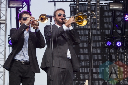 St. Paul and The Broken Bones performing at Sasquatch 2015. (Photo: Matthew B. Thompson/Aesthetic Magazine Toronto)