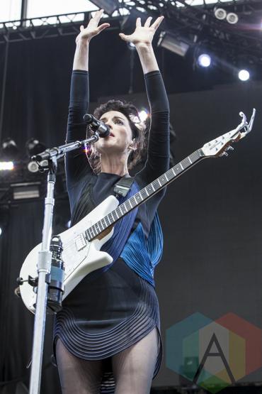 St. Vincent performing at Sasquatch 2015. (Photo: Matthew B. Thompson/Aesthetic Magazine Toronto)