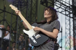 Courtney Barnett performing at Sasquatch 2015. (Photo: Matthew B. Thompson/Aesthetic Magazine Toronto)