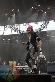Gogol Bordello performing at Sasquatch 2015. (Photo: Matthew Thompson/Aesthetic Magazine Toronto)