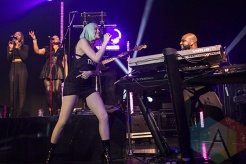 Jessie J performing at The Danforth Music Hall in Toronto, ON on May 7, 2015. (Photo: Alyssa Balistreri/Aesthetic Magazine Toronto)