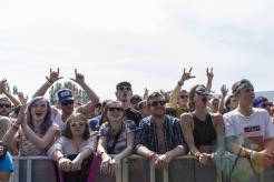 The crowd during Royal Blood's performance at Sasquatch 2015. (Photo: Matthew B. Thompson/Aesthetic Magazine Toronto)