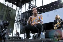 Future Islands performing at Sasquatch 2015. (Photo: Matthew B. Thompson/Aesthetic Magazine Toronto)