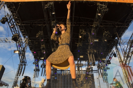 MØ performing at Sasquatch 2015. (Photo: Matthew B. Thompson/Aesthetic Magazine Toronto)