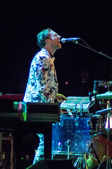 Mini Mansions performing at Massey Hall in Toronto, ON on May 19, 2015. (Photo: Roy Cohen/Aesthetic Magazine Toronto)